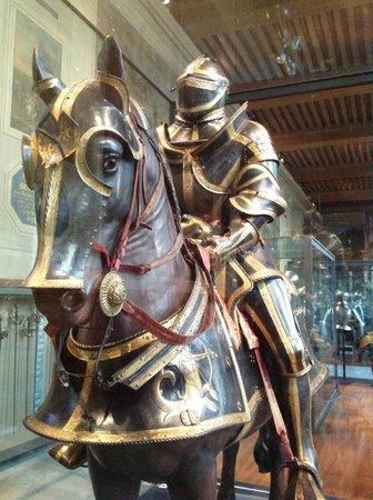 Museo de la Armada: Cavalheiro Medieval