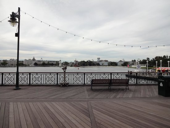 Disney's Boardwalk: Sit and relax a bit on the waterfront