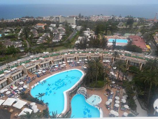 Gloria Palace San Agustín Thalasso & Hotel: vista dalla terrazza