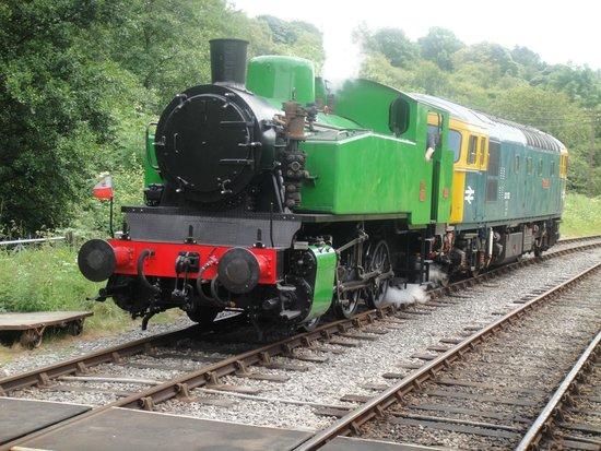 Churnet Valley Railway: steam train