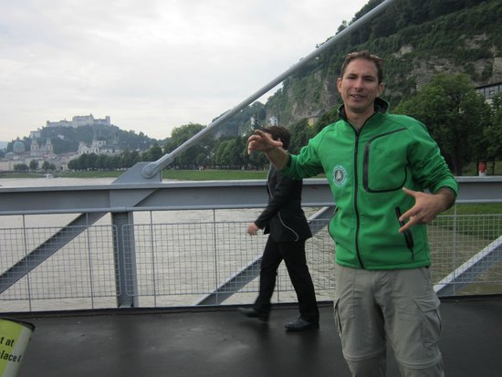 Fraulein Maria's Bicycle Tours: Our awesome tour guide