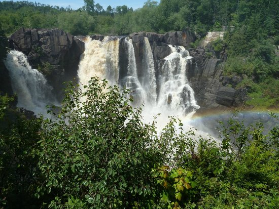 Grand Portage State Forest: The falls, June, 2012