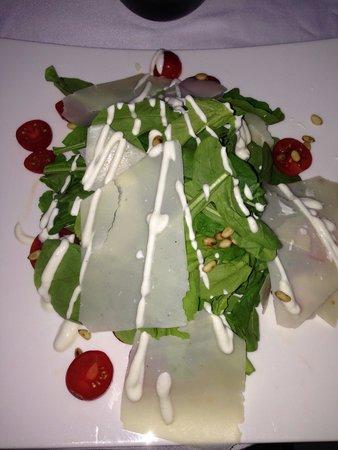 Serafina: The Rucola salad