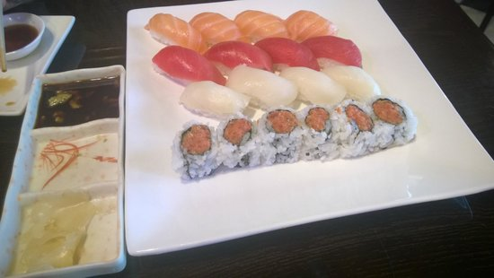 Sushi Ai : Our Sushi choices from lunch buffet