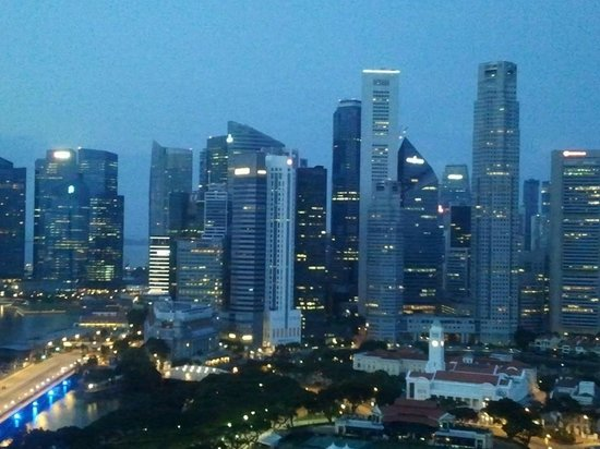 Swissotel The Stamford Singapore: Room View