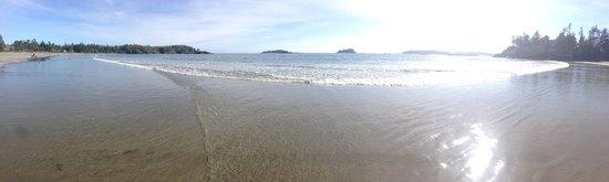 Bella Pacifica: Beach view