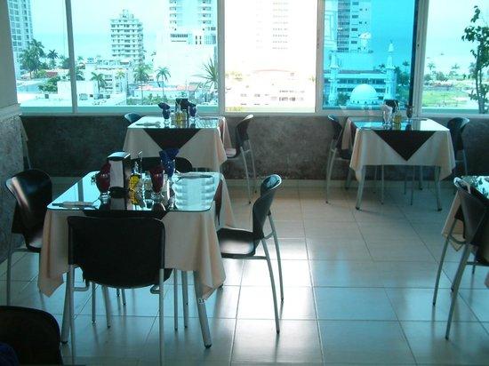 Bahia Suites Hotel: TOP FLOOR RESTAURANT