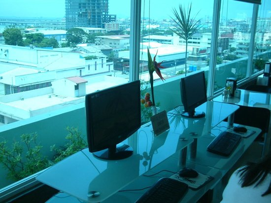 Bahia Suites Hotel: BUSINESS CENTER