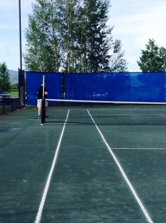 The Tennis Center at Steamboat Springs: Clay court