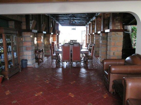 Hosteria de la Plaza Menor: los comedores ,una antiguedad preciosa