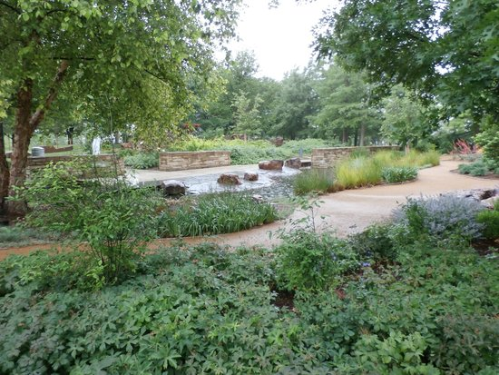 Splash Pad Picture Of Myriad Botanical Gardens Oklahoma