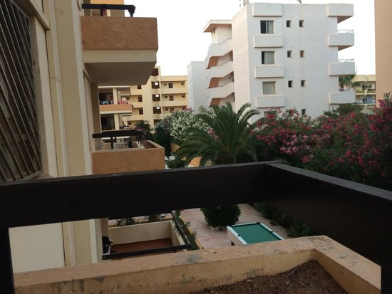 Apartments Arlanza: Balcony view