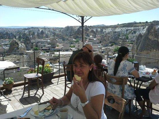 Aydinli Cave Hotel : DESAYUNO