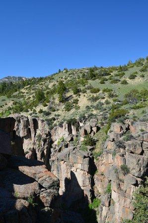 Shell Falls: Shell Canyon