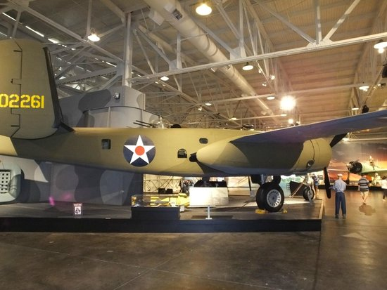 Pacific Aviation Museum Pearl Harbor: B25 Doolittle Bomber..!