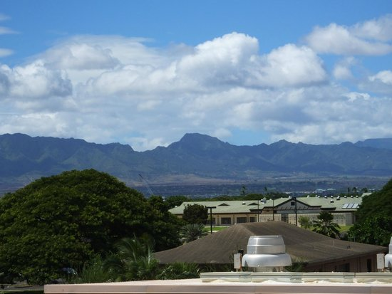 Pacific Aviation Museum Pearl Harbor : The High Peak Mountain..!
