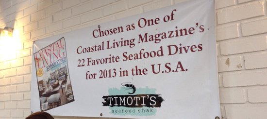 Timoti's Seafood Shack: Yum!