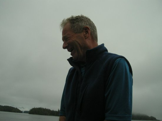 Archipelago Wildlife Cruises : Alan, the Raincoast Maiden's co-captain and very knowledgeable host