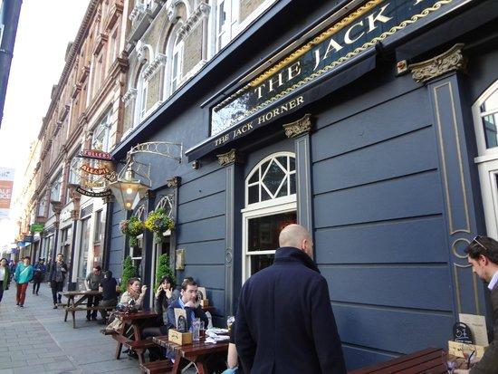 The Jack Horner : fachada