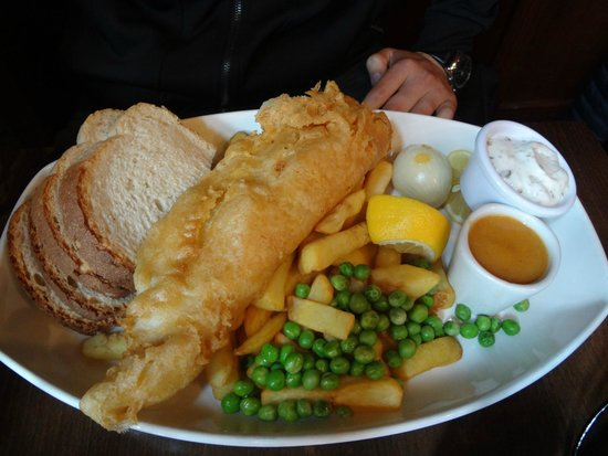 Shakespeare's Head : fish and chips