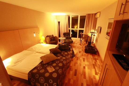 Hotel Allegro Bern: View of my room.