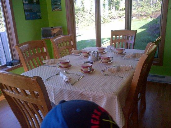 Auberge la Sainte Paix : Bon appetit!