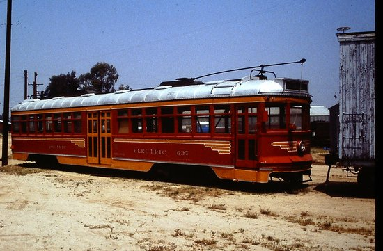 Seashore Trolley Museum : Big Red Car