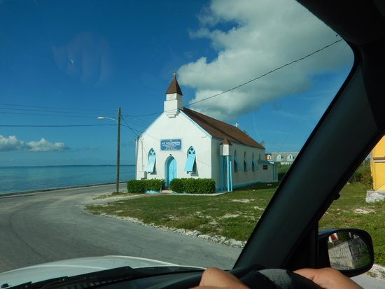 Tarpum Bay: Love this little town!