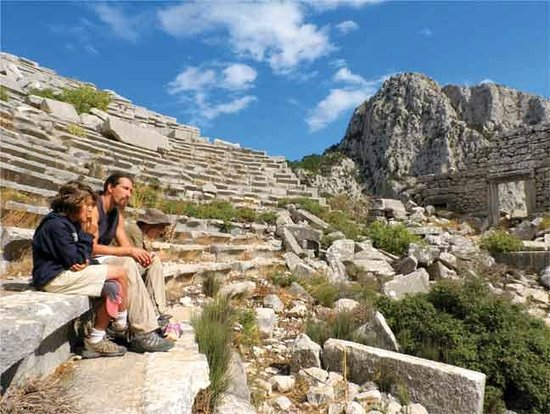 Lunch in the Theatre at Termessos
