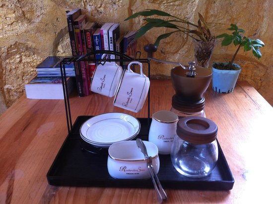Timeless Hostel Yuanyang: coffee time 细品咖啡