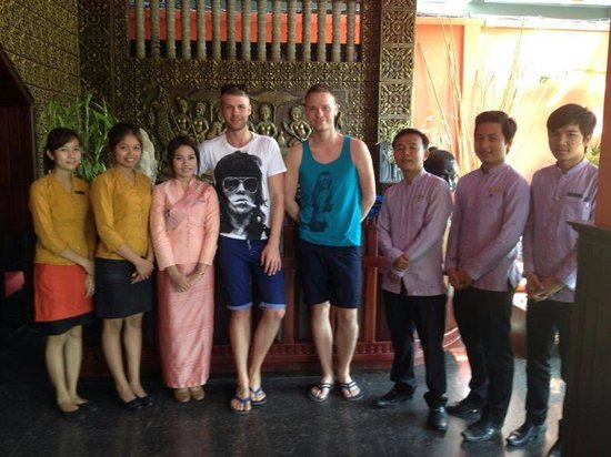Golden Temple Villa : Our family in Cambodia