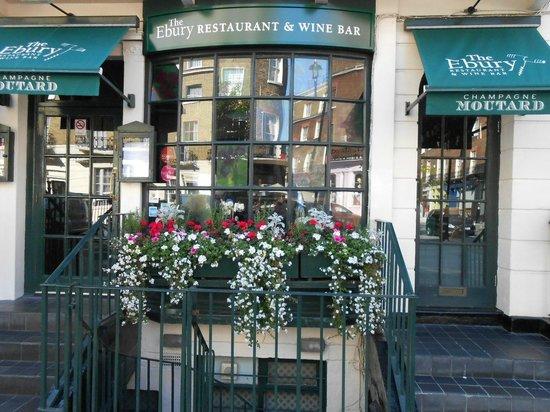 The Ebury Restaurant Wine Bar Ebury Street London