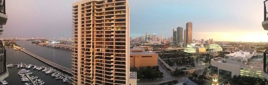 Miami Marriott Biscayne Bay: View from 2324