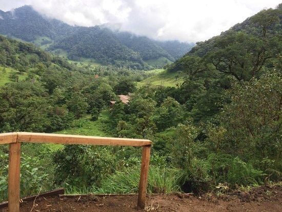 El Silencio Lodge & Spa : vista desde los senderos