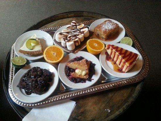 Morgan's Tavern & Grill: Desserts.