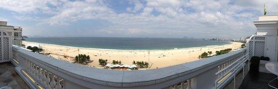 Belmond Copacabana Palace: Vista do quarto/apartamento