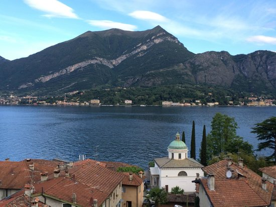 Hotel Silvio: The view from our balcony