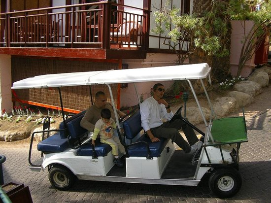 The Orchid Hotel and Resort Eilat : Hotel car