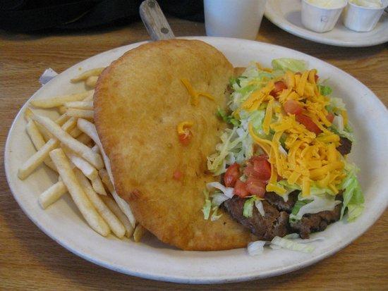 Wayside Cafe: Navajo Fry Burger