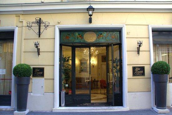 Condotti Hotel : Entrada do Hotel Condotti