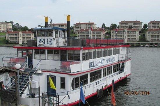 Belle of Hot Springs Riverboat: Belle