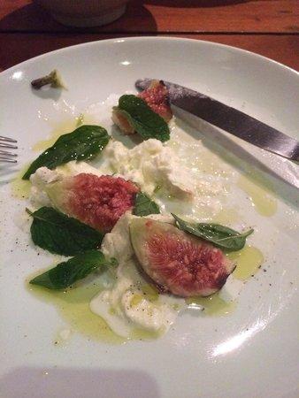 Arturito: Sorry I already started..... The fig entrée