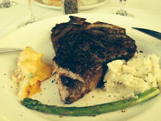 Del Frisco's Double Eagle Steak House - Boston: T-Bone Steak 24oz 2