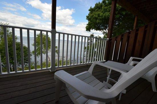 The Bayview: Balcony