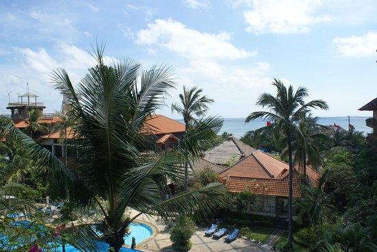 Sari Segara Resort Villas & Spa: Из номера видно море