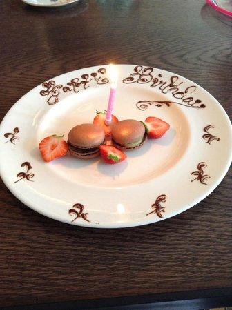 Brumus - Haymarket Hotel : Birthday Delight