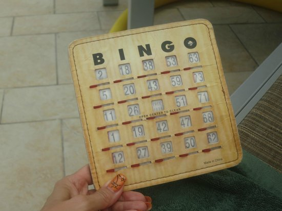 Sonesta Great Bay Beach Resort, Casino & Spa: BINGO!