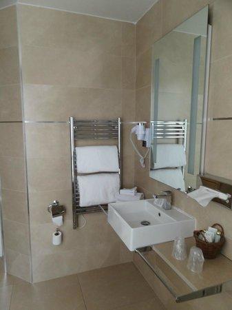 Hotel de l'Empereur: Towel warmer