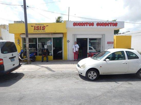 Burritos Gorditos: Great place, great food.