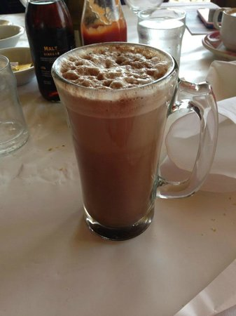 Fishermen's Grotto: Hot Chocolate